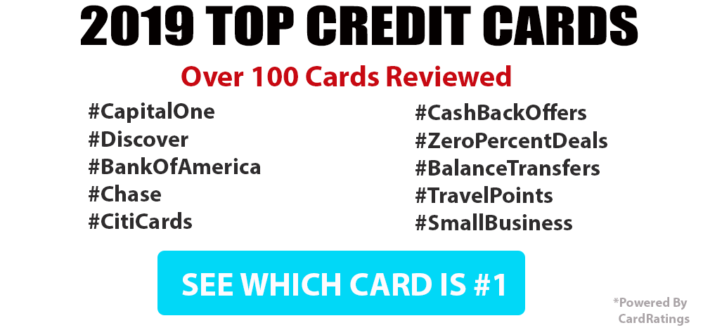 top airline credit cards for 2019