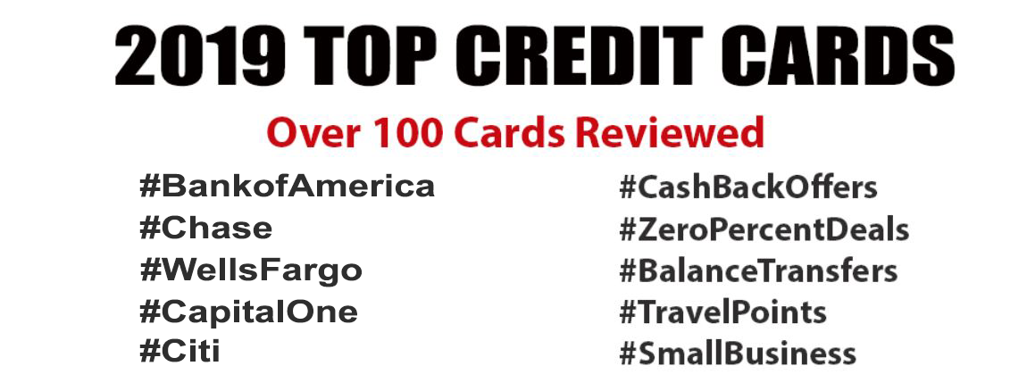 2019 top travel credit card offers